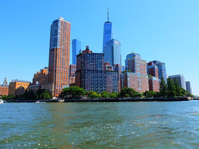 TriBeCa in New York - Waterkant