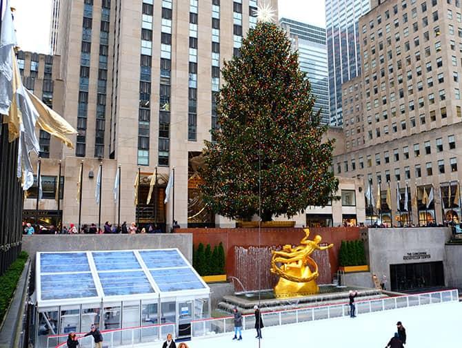 Schaatsen in New York - Rockefeller Schaatsbaan
