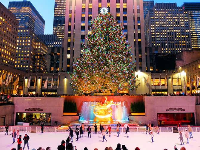 Schaatsen in New York - Schaatsen bij Rockefeller Center