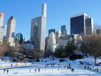 Schaatsen in New York - Wollman Rink