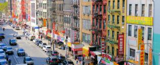 Chinatown in New York
