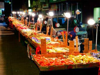 Chinatown in New York - Markt