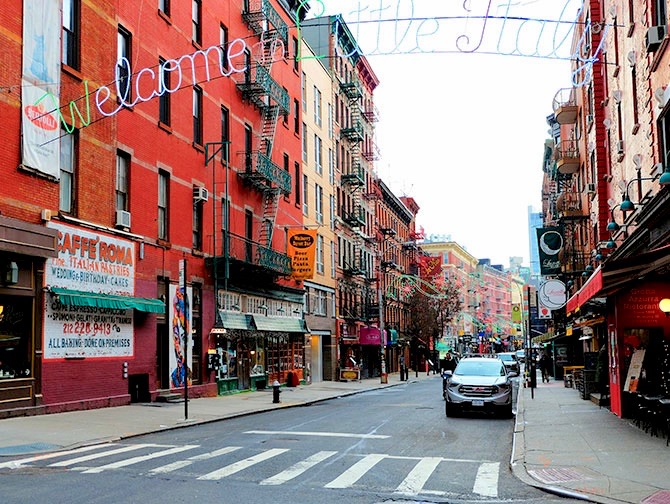 Little Italy in New York - Welkom