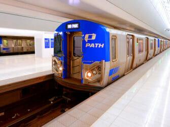 PATH in New York - Trein