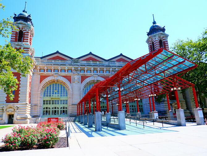 Het Vrijheidsbeeld en Ellis Island Tour