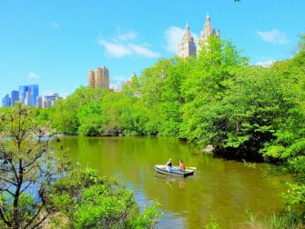 Upper East Side in New York - Central Park