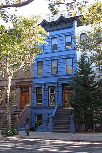 Upper West Side in New York - Blauwe Huis