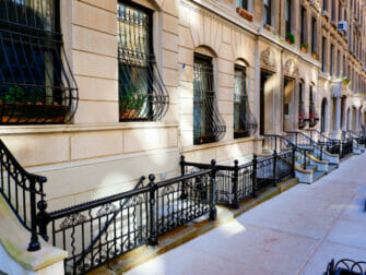 Upper West Side in New York - Brownstone