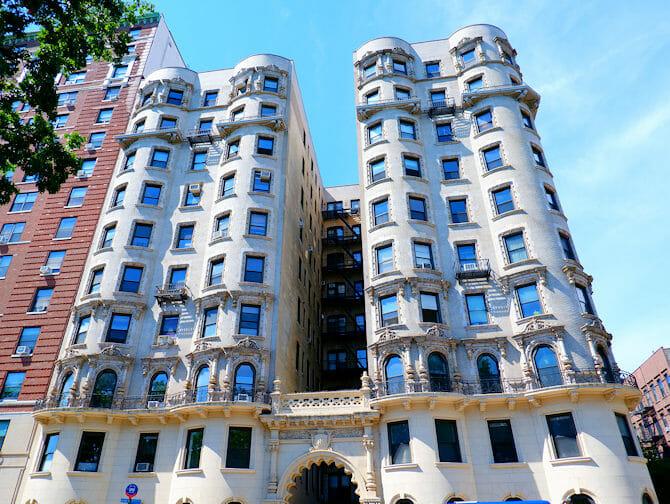 Upper West Side in New York - Brownstone