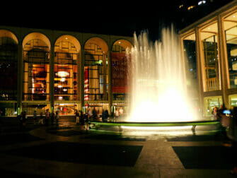 Upper West Side in New York - Lincoln Center