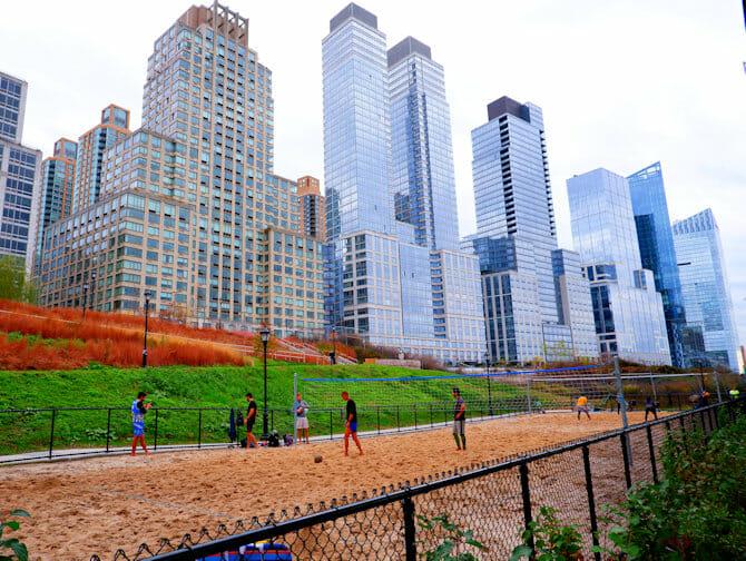 Upper West Side in New York - Riverside Park