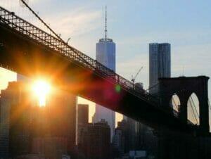 Gemiddelde temperatuur in New York