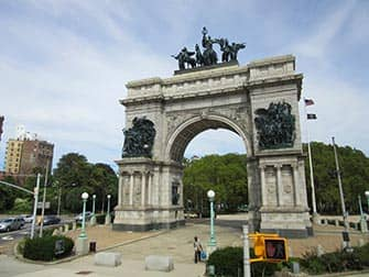 Brooklyn in NYC - Grand Army Plaza