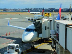 Vliegen naar New York - vliegtuig