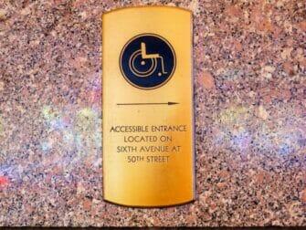 Voorzieningen voor gehandicapten in New York