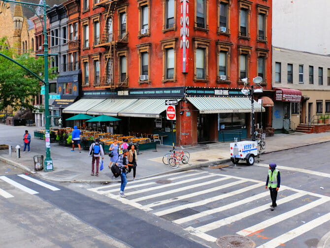 Hiphoptours in New York - Straat
