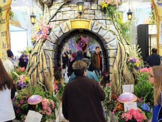 Macy's in New York - Flower Show Decoratie