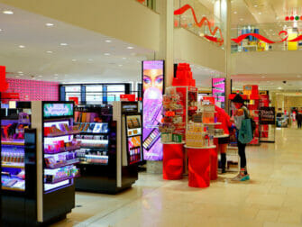 Macy's in New York - Interieur