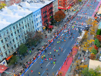 New York Marathon First Avenue