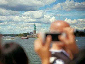 Foto's nemen in New York