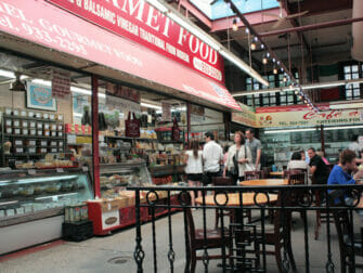 The Bronx in NYC market in Little Italy