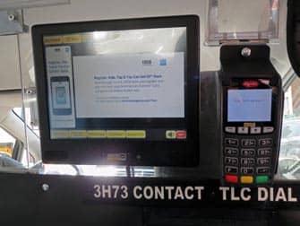 Dar propina en un taxi en Nueva York