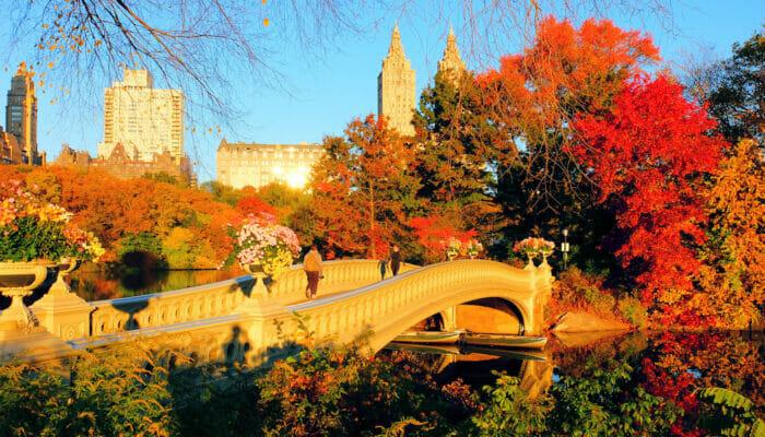 Het weer in New York - Herfst