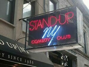 Comedy club stand up new york