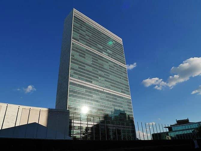 De Verenigde Naties in New York - Hoofdkantoor