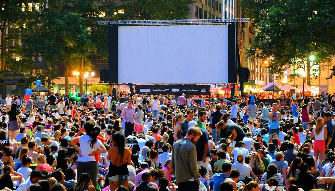 Gratis Films in Bryant Park - Filmavond