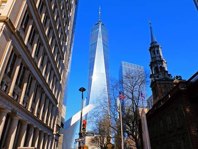 Freedom Tower : One World Trade Center - Downtown Manhattan