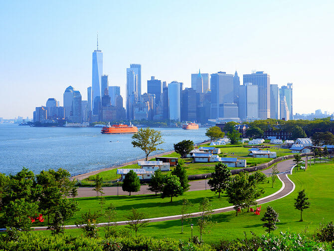 Governors Island in New York - 1WTC