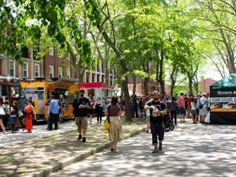 Governors Island in New York - Markt