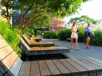 High Line Park in New York - Loungestoelen