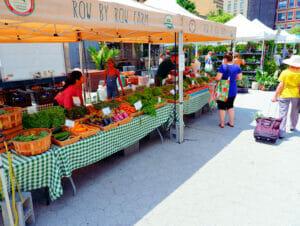Markten in New York