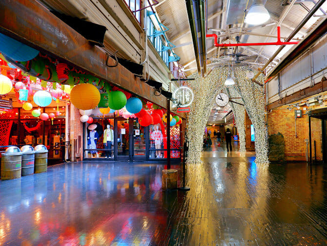 Markten in New York - Chelsea Market