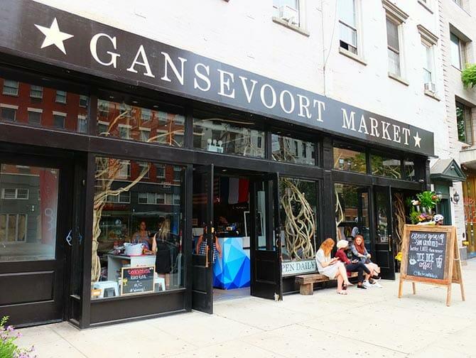 Markten in New York - Gansevoort Market