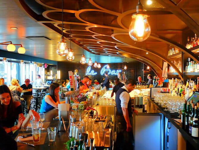 Markten in New York - Le Bar in Le District