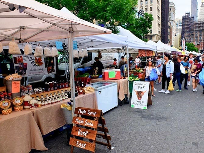 Markten in New York - Union Square Greenmarket
