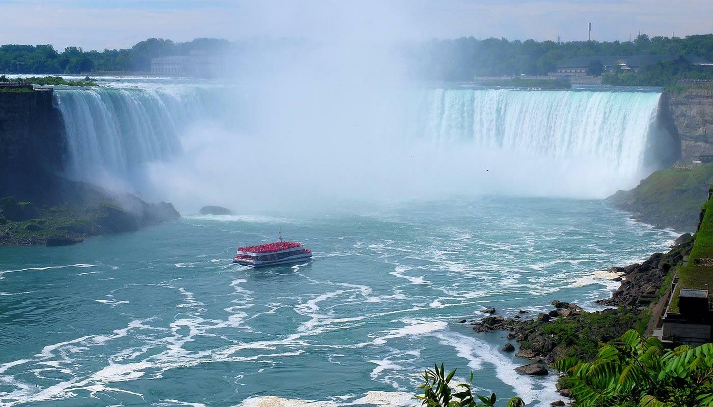 Driedaagse bustour van New York naar Canada - Boottocht