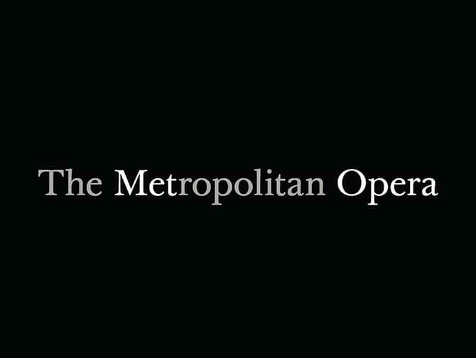 Opera in het Lincoln Center in New York