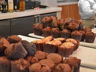Yotel in New York - Ontbijt Muffins