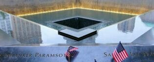 Het 9/11 Memorial-Monument in New York