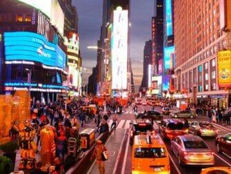 Big Bus in New York avondtour