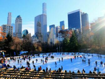 Central Park - Schaatsen Op De Wollman Rink