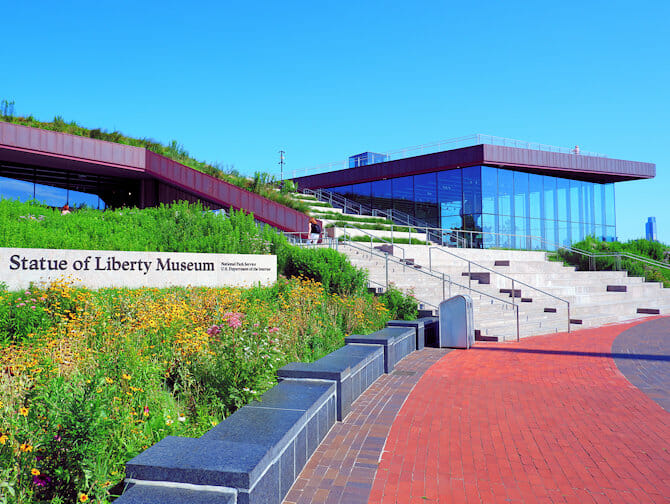 Het Vrijheidsbeeld in New York - Museum