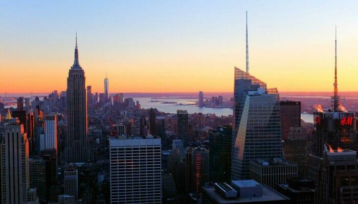 Top of the Rock Tickets - Uitzicht Zonsondergang