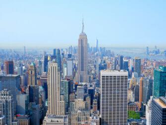 Top of the Rock Tickets - Uitzicht op Empire State Building