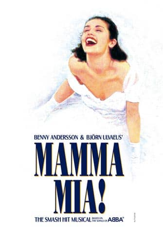 Mamma Mia op Broadway in New York City
