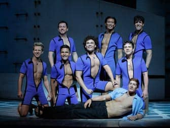 De musical Mamma Mia in New York